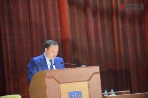 Глава Запорожской ОГА Константин Брыль отчитывается за год работы - ФОТО