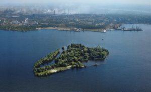 Депутаты горсовета поддержали новое название для проблемного острова в Днепровском водохранилище