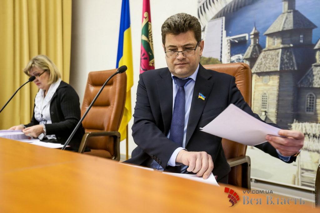 Владимир Буряк созывает депутатов на очередную сессию Запорожского горсовета