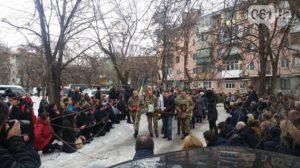 Запорожцы провели в последний путь погибшего бойца АТО - ФОТО