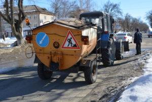 Запорожские коммунальщики готовятся ремонтировать дороги с помощью новой техники