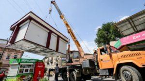 В Запорожье обещают демонтировать киоски «Купуй запорізьке» за нарушение требований меморандума