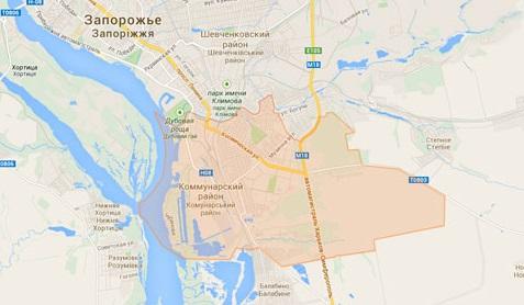 В Запорожье хотят переименовать один из районов города