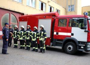 В Запорожской области создают добровольные пожарно-спасательные подразделения