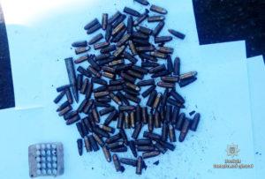 У жителя запорожского села нашли почти полторы сотни патронов - ФОТО