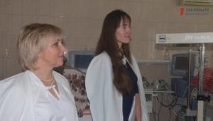 В пятой детской больнице появилось новое оборудование для новорожденных