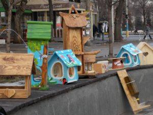 В Запорожье прошел конкурс на лучшую кормушку для птиц - ФОТО