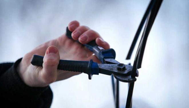 В Запорожской области поймали очередного кабельного вора
