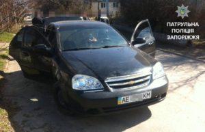В Запорожье в машине нашли боевую гранату - ФОТО