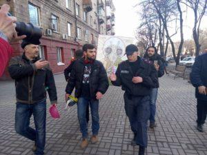 В Запорожье состоялось мини-шествие с Летающим Макаронным Монстром – ФОТО, ВИДЕО
