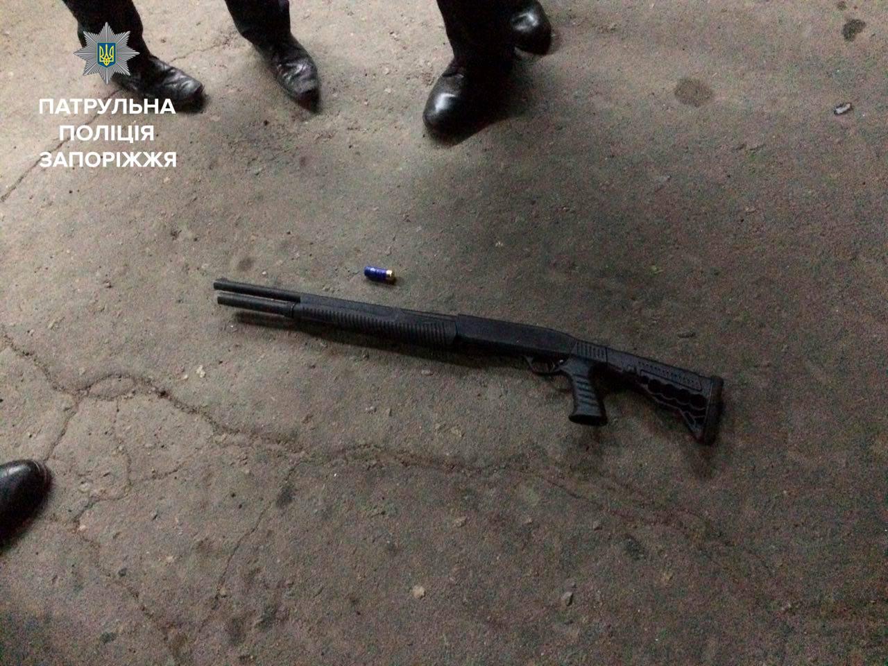 Подробности вчерашней стрельбы в Запорожье - ФОТО, ВИДЕО