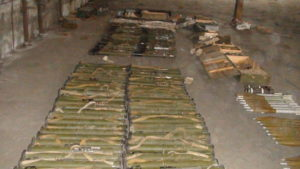Арсенал оружия, изъятый силовиками, принадлежит 37-му батальону — волонтер