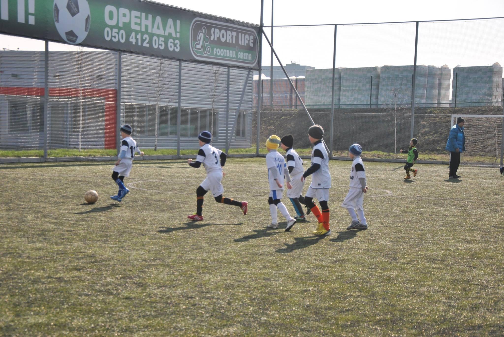 В Запорожье возьмут курс на развитие детского футбола