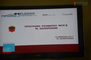 В Запорожье презентовали программу развития малого и среднего бизнеса на ближайшие пять лет