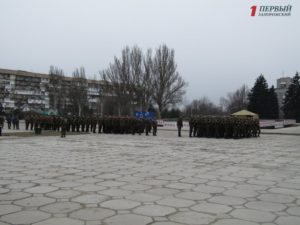В Запорожье отметили третью годовщину создания Национальной гвардии Украины - ФОТОРЕПОРТАЖ