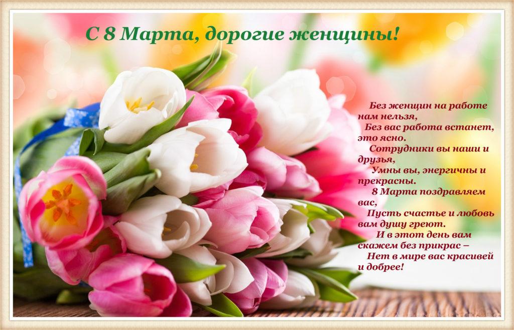 Поздравление с 8 марта женщины цветы и прекрасная музыка куст розы купить цена
