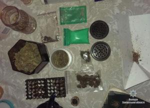 У запорожца нашли марихуану на 10 тысяч гривен - ФОТО