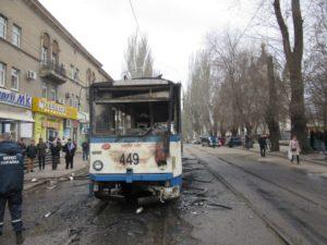 Полиция начала досудебное расследование по факту возгорания трамвая - ФОТО