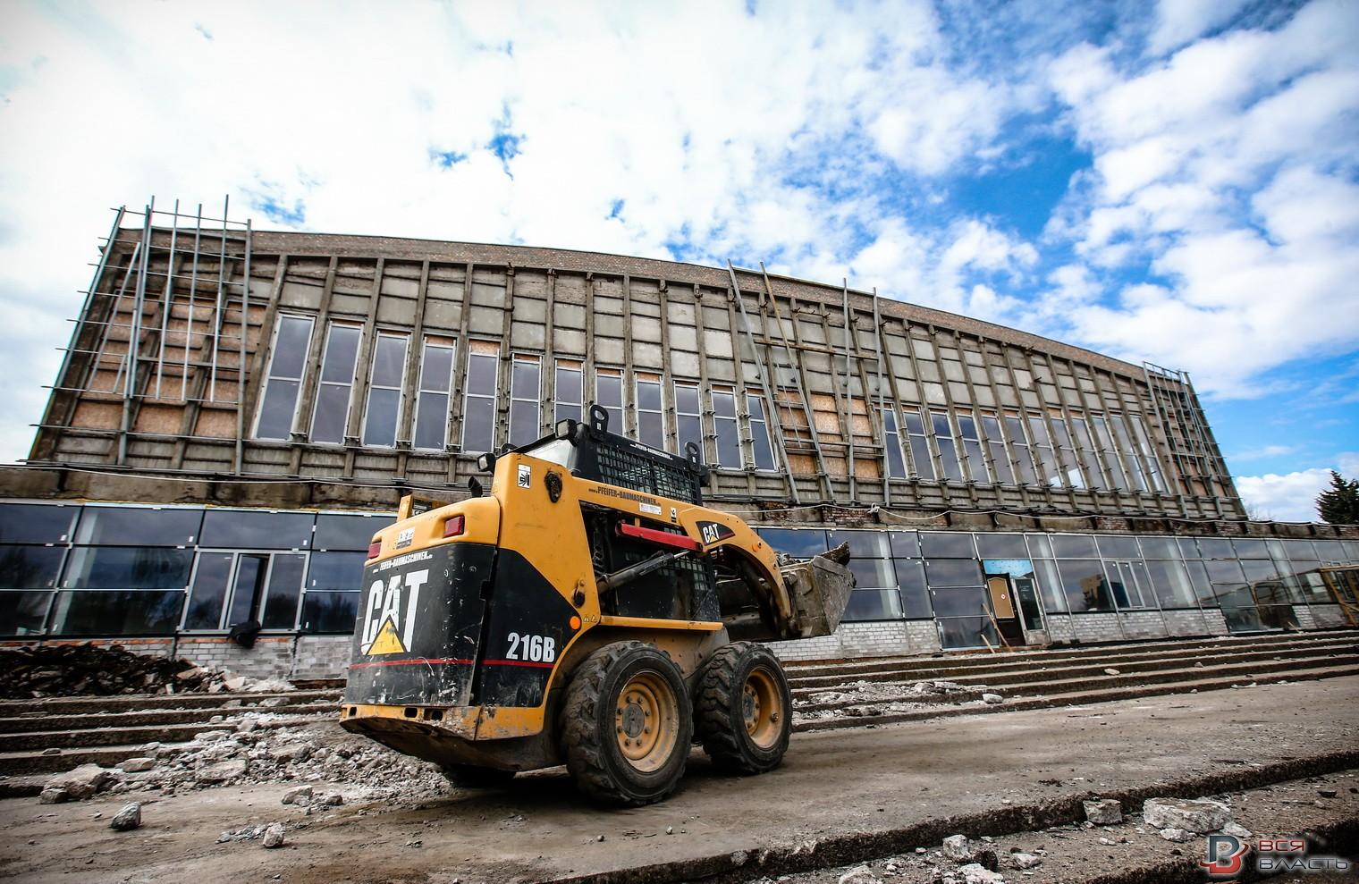 В обновленной «Юности» появится ледовый каток и хоккейная площадка