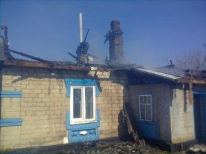 В Запорожской области жилой дом остался без крыши - ФОТО