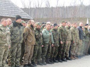 В Запорожье на Хортице отметили День украинского добровольца - ФОТО