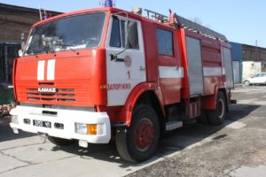 В Запорожье сгорела мастерская частного предприятия - ФОТО