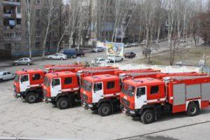 Запорожские спасатели получили новые автомобили - ФОТО