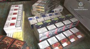 На центральном рынке города полицейские изъяли огромную партию контрабандных сигарет - ФОТО, ВИДЕО