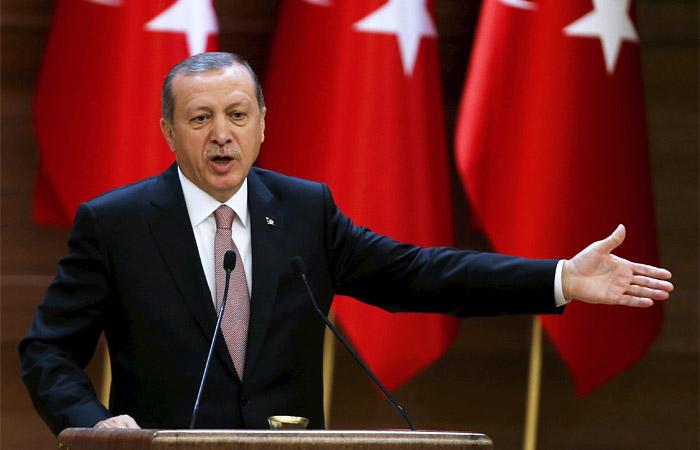 Президент Турции Эрдоган обвинил Запад в вооружении террористов