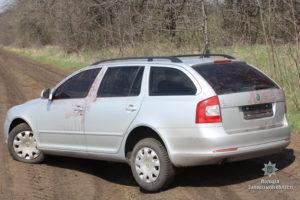 Запорожский ГАИшник, находясь в розыске, похитил автомобиль
