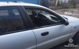 В Запорожской области поймали на «горячем» двух автограбителей - ФОТО