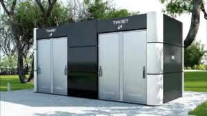 В парках и скверах Запорожья появятся модульные туалеты