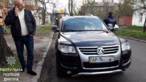 Угнанный в Запорожье автомобиль нашли в соседней области - ФОТО