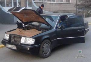 Жительница Запорожской области разъезжала на