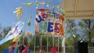 В Запорожской области прошел фестиваль воздушных змеев - ФОТО