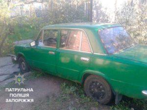 В Запорожье пьяный водитель протаранил забор - ФОТО