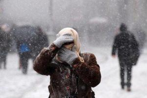 В Запорожье и области объявили штормовое предупреждение