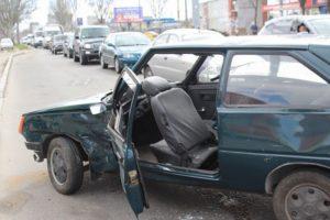 В Запорожье произошло серьезное ДТП, - ФОТО
