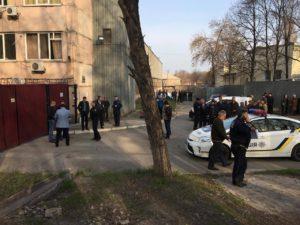 В Запорожье заминировали здание предприятия - ФОТО
