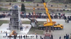 Власть и общественность собрались за круглым столом, чтобы обсудить судьбу памятника Ленину - ФОТО