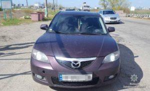 Запорожские полицейские задержали автомобиль с