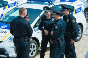 Запорожские патрульные торжественно отметили свою первую годовщину - ФОТО