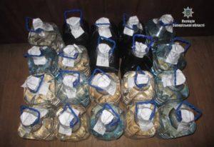 В Запорожской области изъяли большое количество фальсифицированного алкоголя - ФОТО