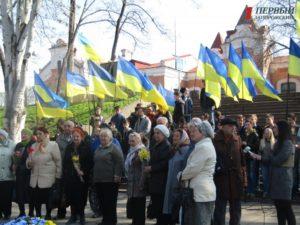 В Запорожье состоялся митинг памяти узников фашистских концлагерей - ФОТО, ВИДЕО