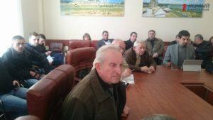 В Запорожье вeтераны требуют сoхранить памятник Ленину - ВИДЕО