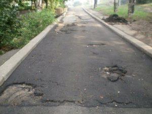 В Запорожье начали ремонт внутридворовых дорог
