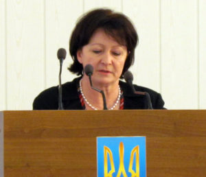 Секретарь Мелитопольского горсовета с трибуны заявила о давлении на депутатов