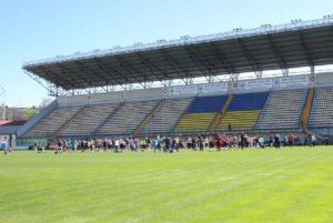 Запорожцы приняли участие в двухчасовом спортивном марафоне на «Славутич Арене»- ФОТО