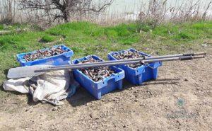 В Запорожье задержали браконьера, выловившего более трех тысяч бычков - ФОТО
