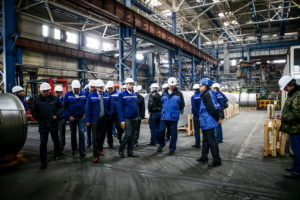 Комиссия Верховной Рады по вопросам приватизации наведалась на «Запорожский алюминиевый комбинат» - ФОТО